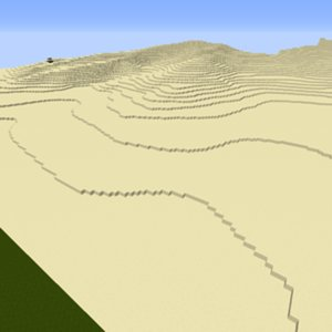 Terrain with darki