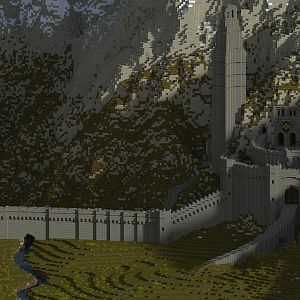 Megga's Render of Helms Deep