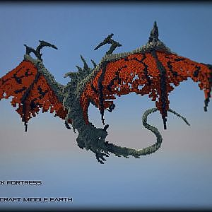 Smaug Over Hobbiton - Minecraft the Hobbit - YouTube