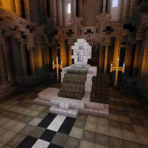 The throne of Minas Tirith remains empty