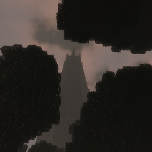 Isengard in a storm