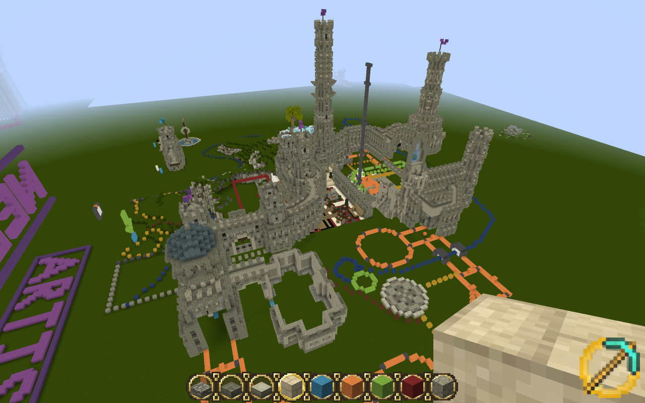 Artists Base on Freebuild | Minecraft Middle Earth