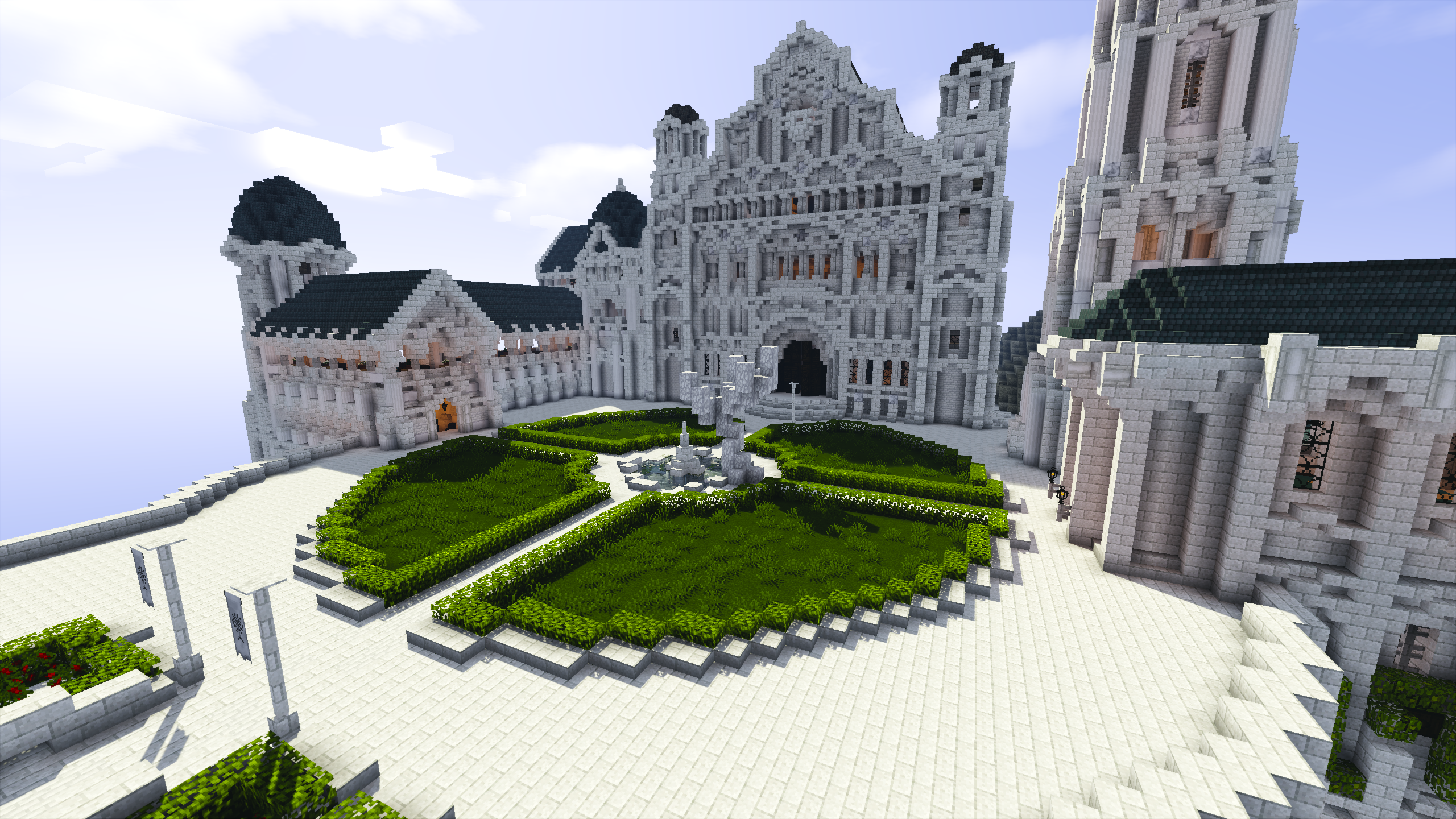 Palace at Minas Tirith