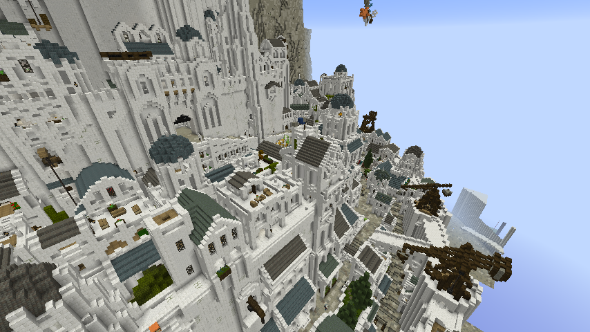 Part of Minas Tirith