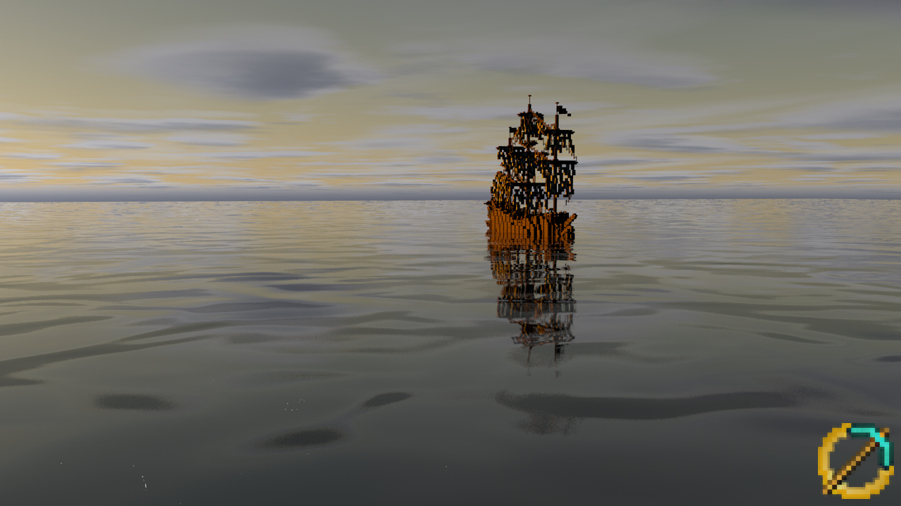 Ship in Belfalas (Render)