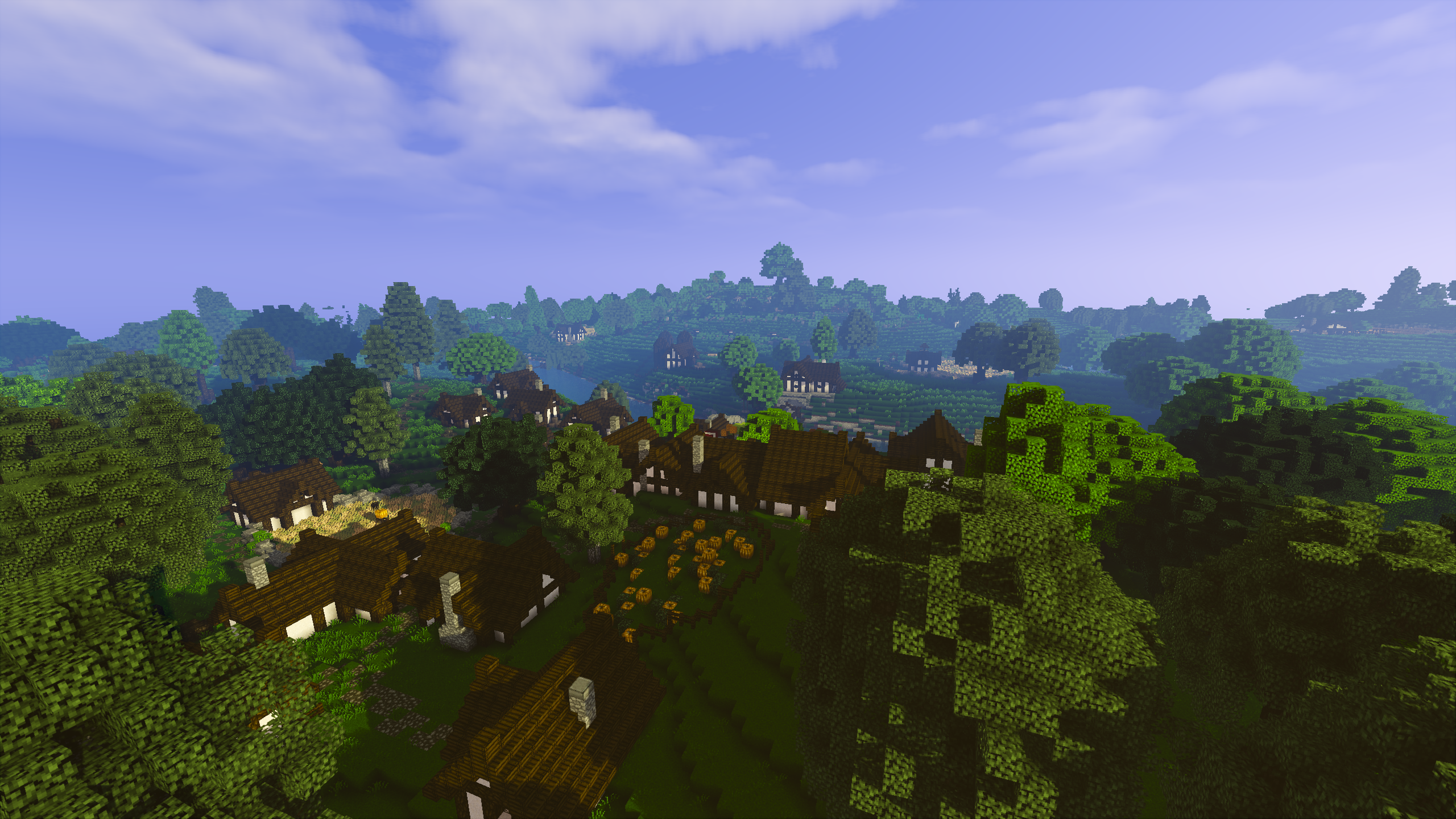 Simple Wallpaper Minecraft Scenery - full  Pic_597691.2712/full