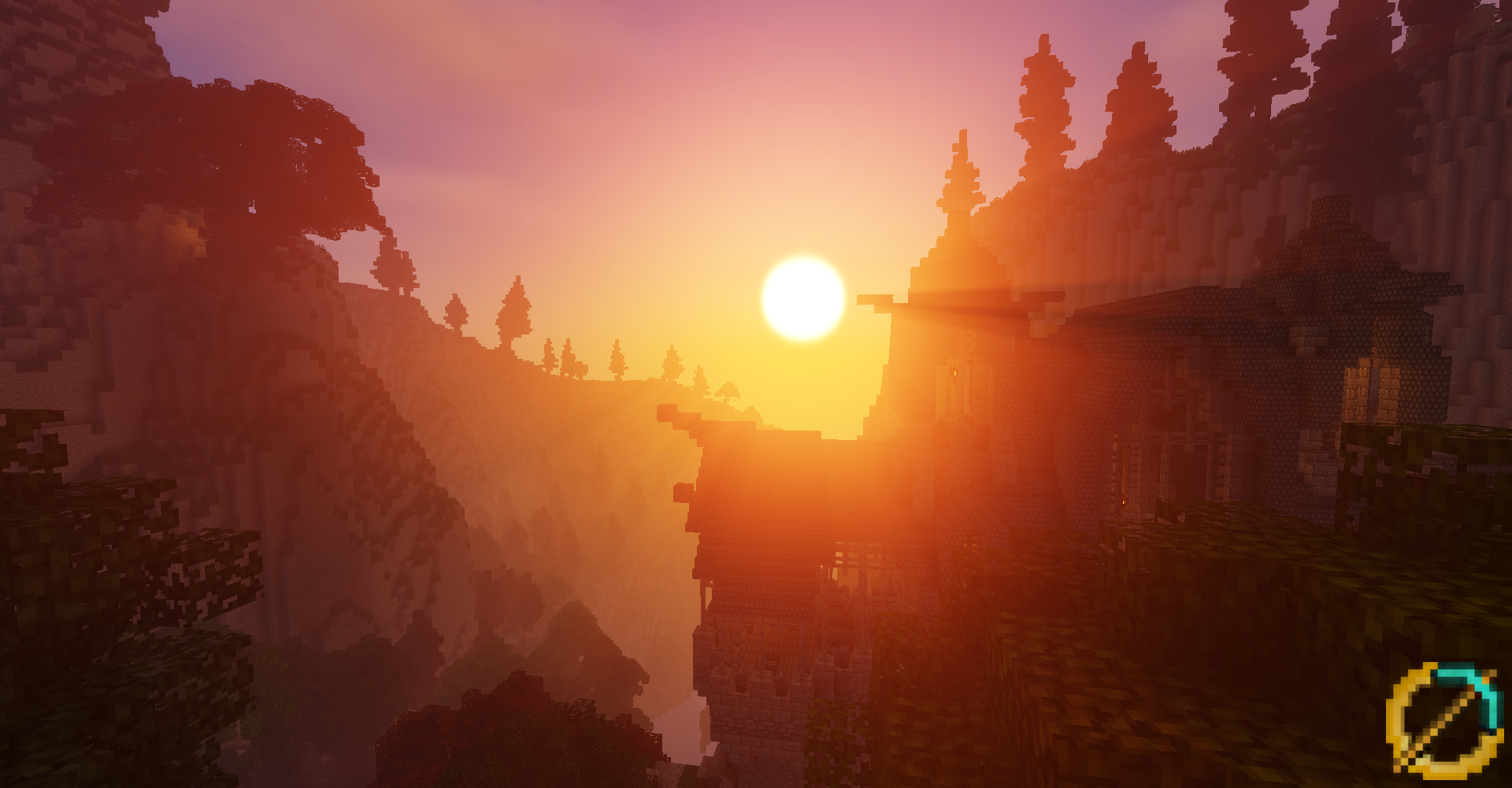 Sunset in Rivendell